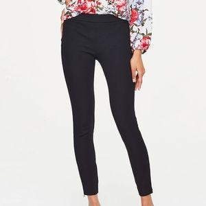 Loft Outlet dark blue side zip career pants sz 12